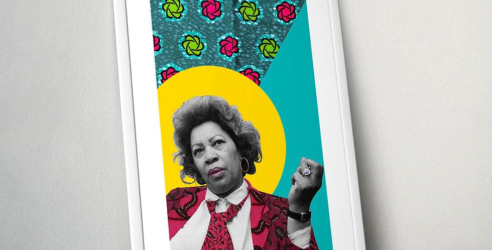 Toni Morrison Limited Edition Print