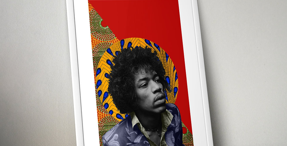 Jimmi Hendrix Limited Edition Print