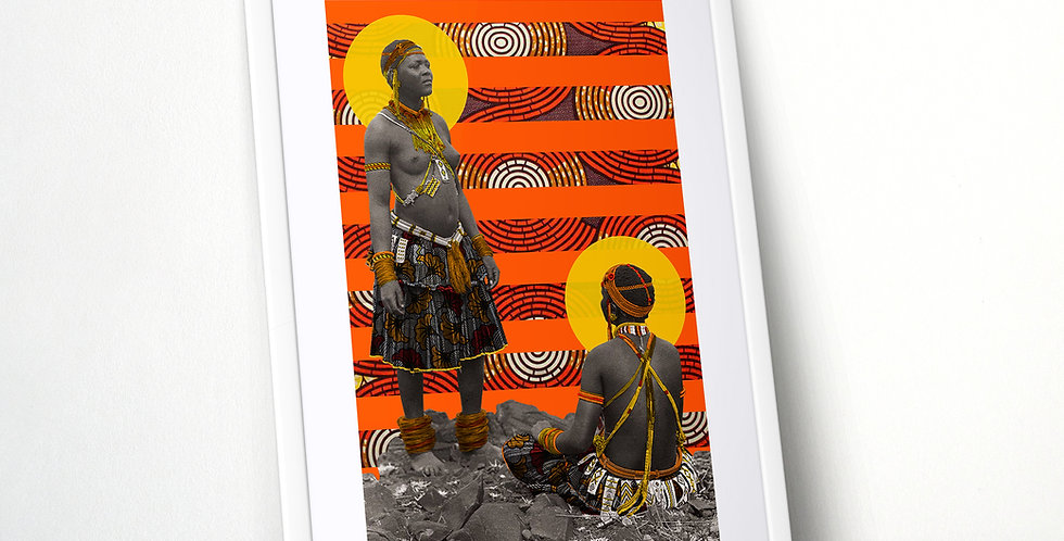 South African Women Limited Edition Print