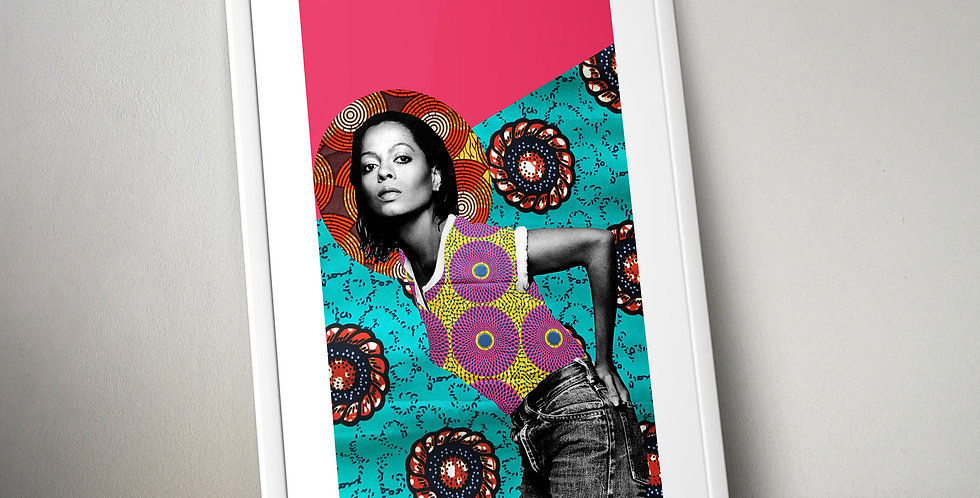 Diana Ross Limited Edition Print