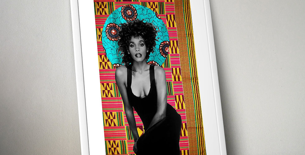 Whitney Houston Limited Edition Print