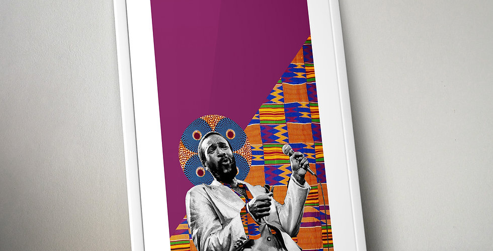 Marvin Gaye Limited Edition Print