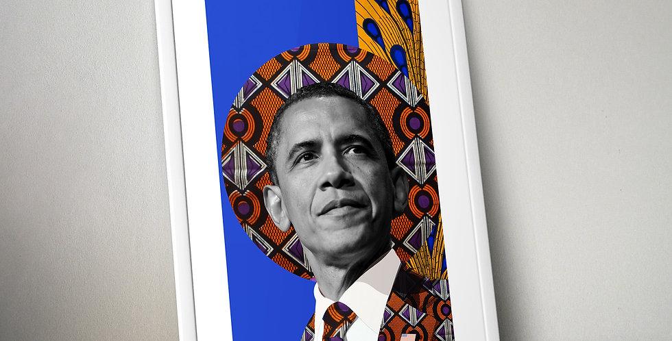 Barack Obama Limited Edition Print