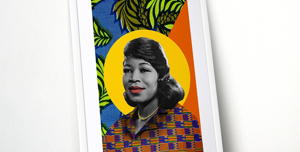 Betty Shabazz Limited Edition Print