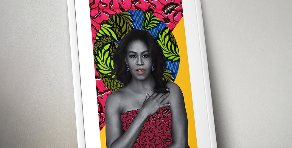 Michelle Obama Limited Edition Print