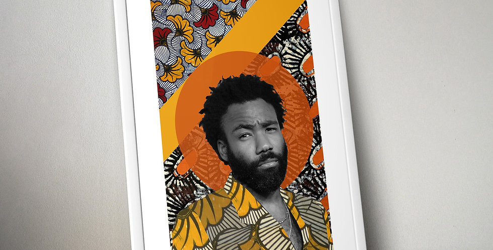 Childish Gambino Limited Edition Print