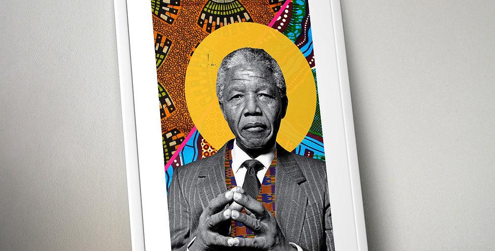 Nelson Mandela Limited Edition Print