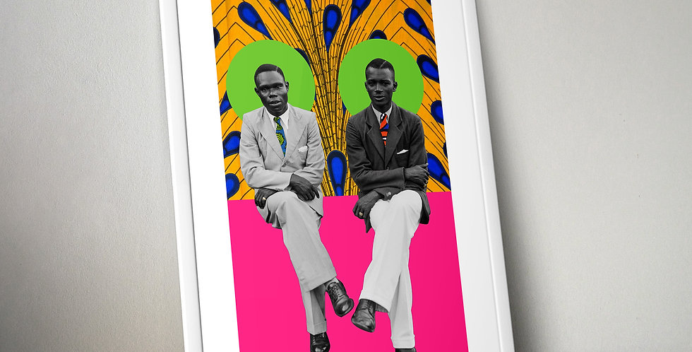 Nigerian Brothers 1950 Limited Edition Print