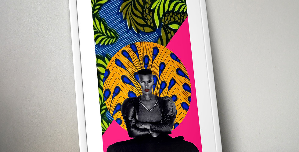 Grace Jones Limited Edition Print
