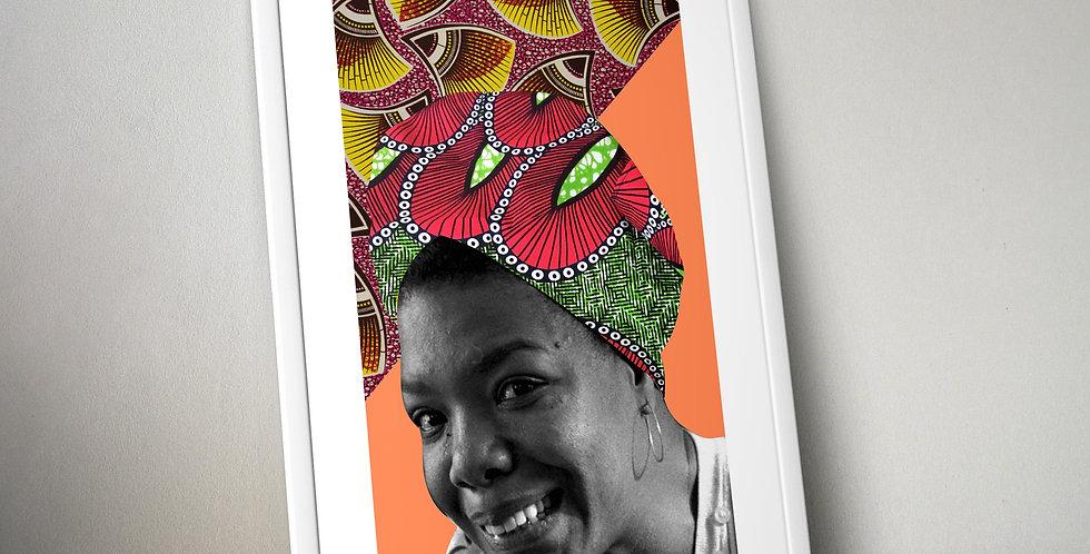Maya Angelou Limited Edition Print