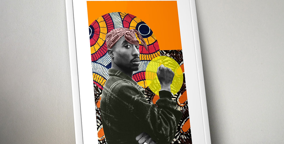 Tupac Shakur ||| Limited Edition Print
