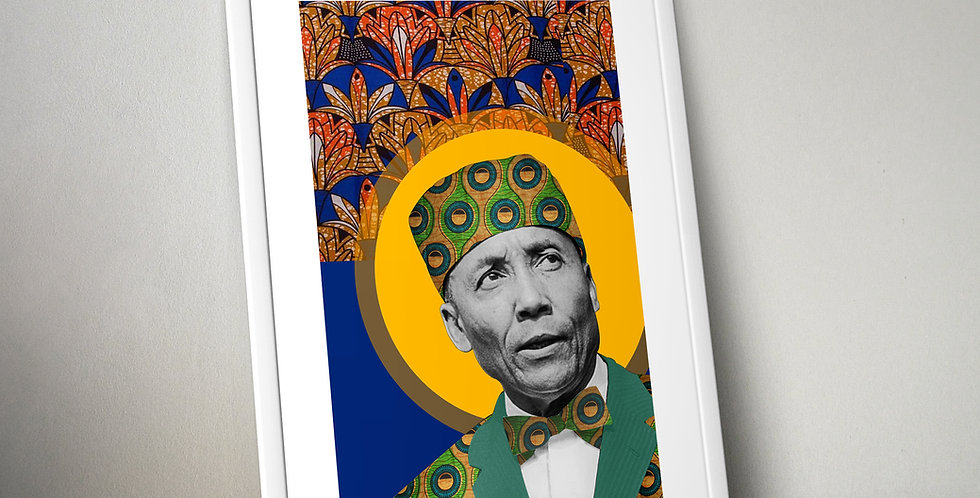 Elijah Muhammad Limited Edition Print