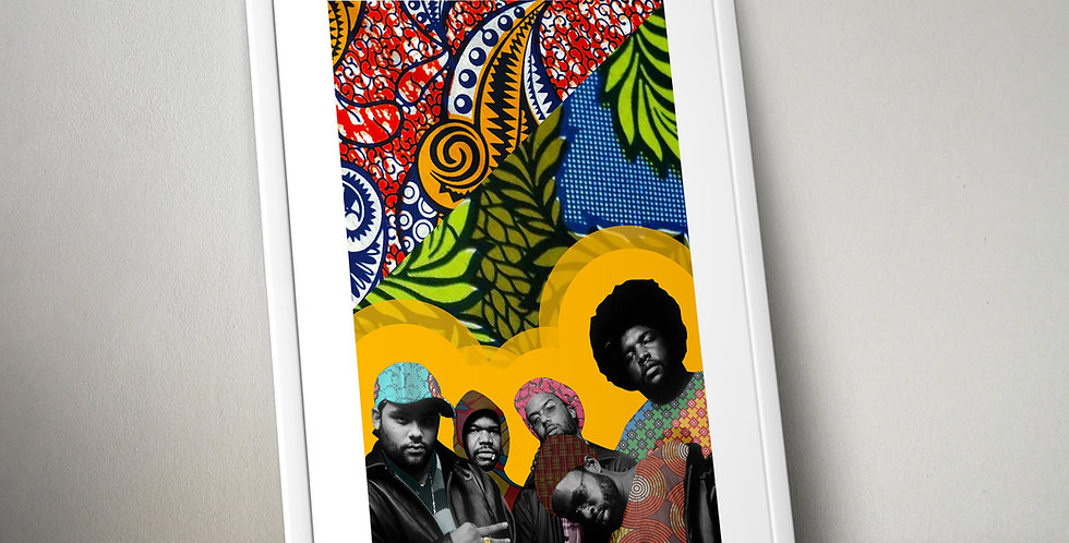 The Roots Limited Edition Print