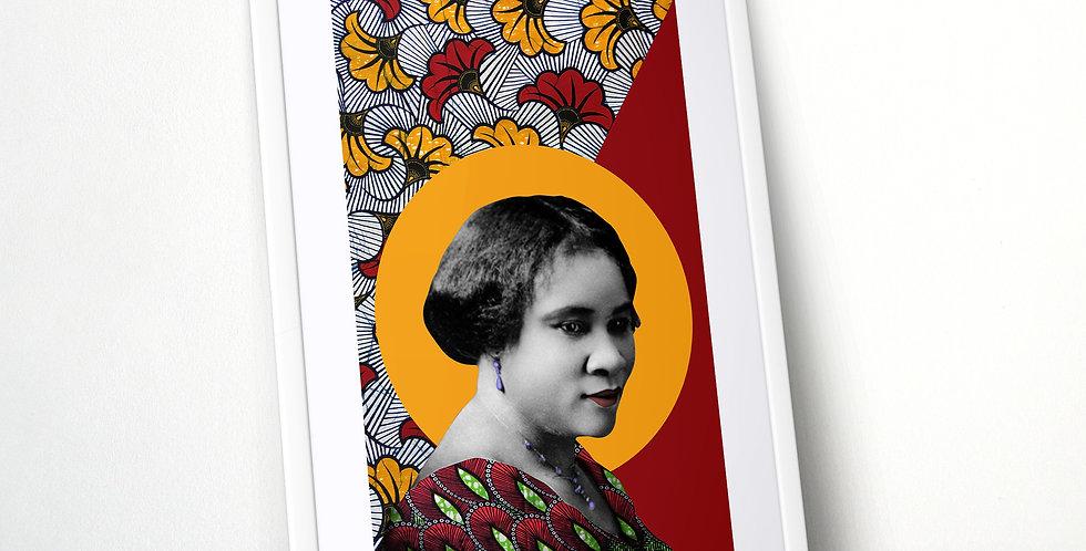 Madam C J Walker Limited Edition Print