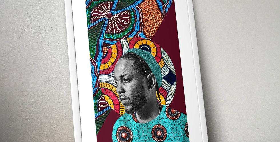 Kendrick Lamar Limited Edition Print