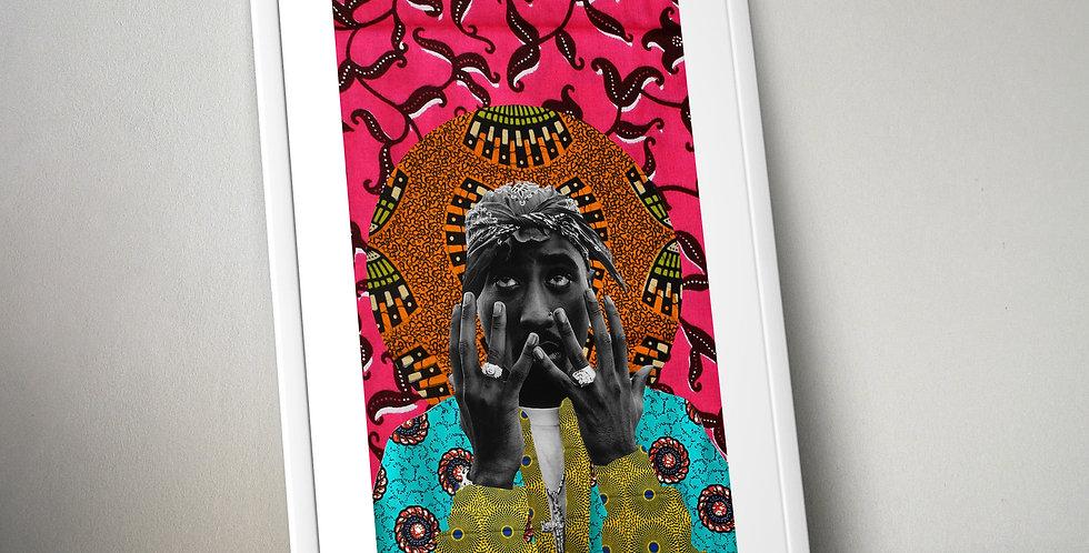Tupac Shakur Limited Edition Print