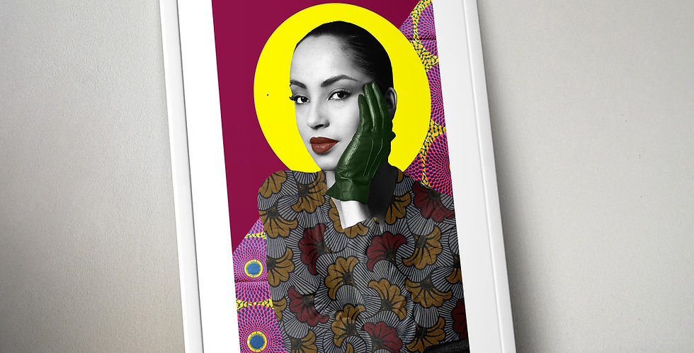 Sade Limited Edition Print