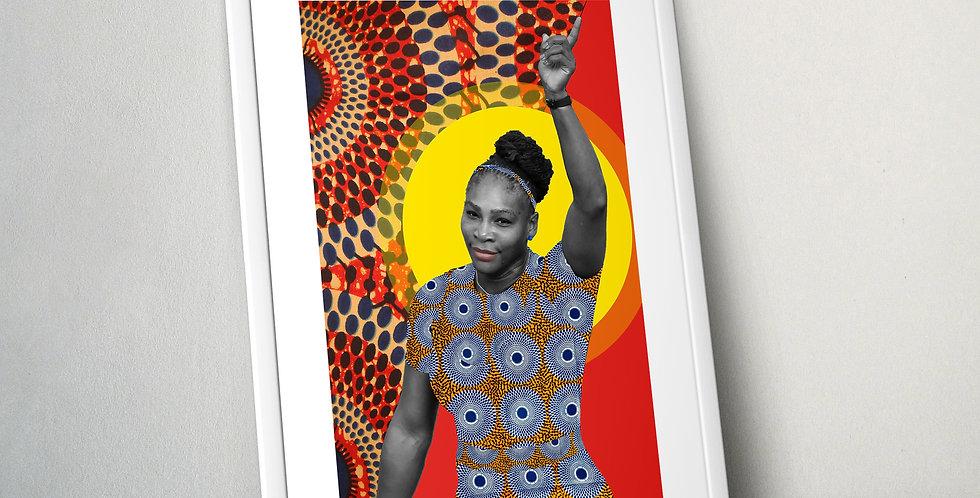 Serena Williams Limited Edition Print
