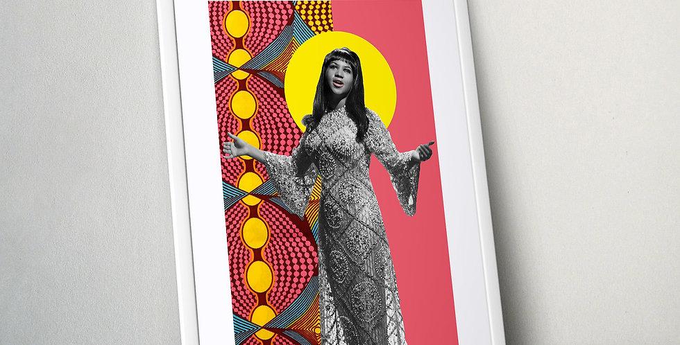 Aretha Franklin Limited Edition Print