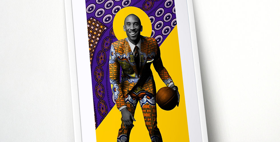 Kobe Bryant Limited Edition Print