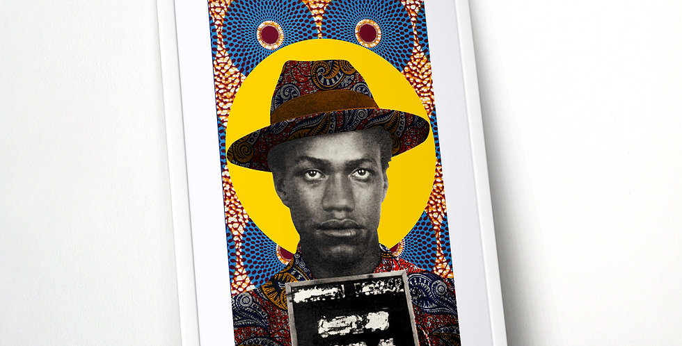 Malcolm X Mugshot Limited Edition Print