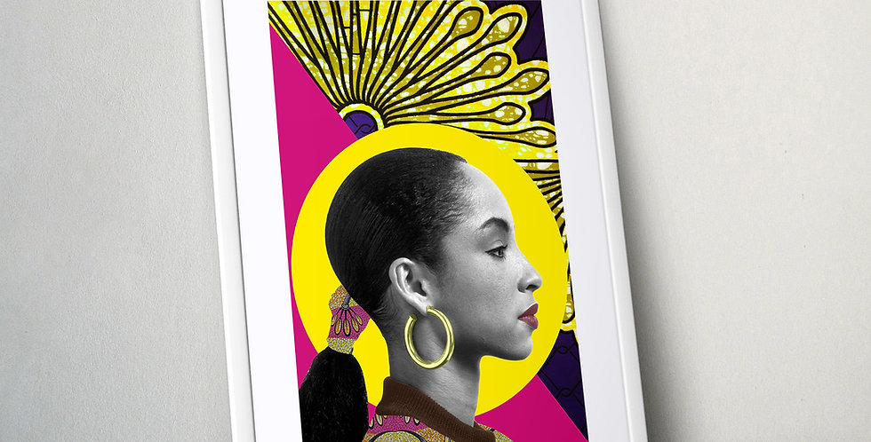 Sade || Limited Edition Print