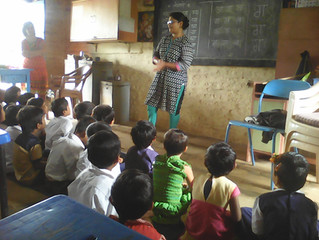 PUSTAK PETI - mobile library for rural children