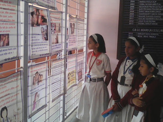 """Awareness poster exhibition on """"prevention of child sexual abuse"""""""