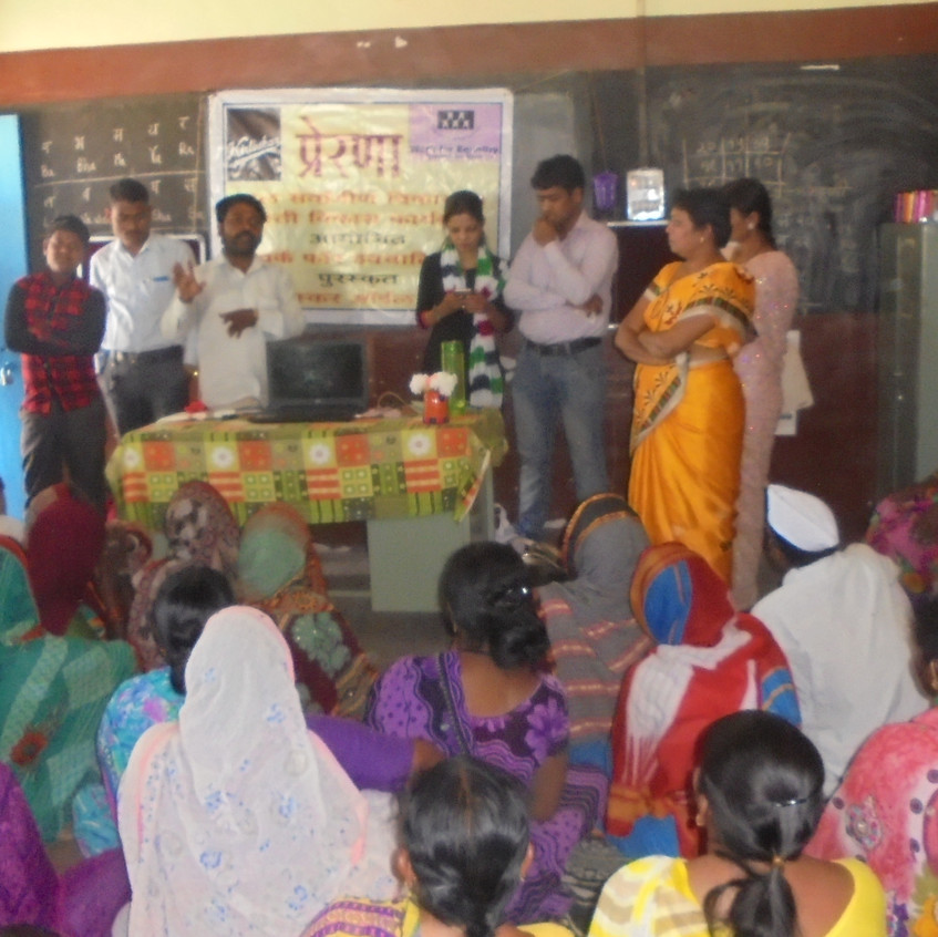 villagers in workshop