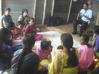 Adolescent girls group meet