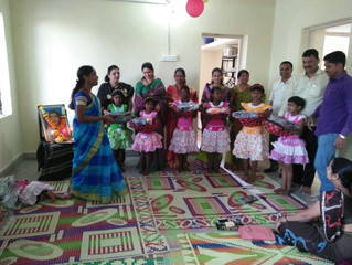 Inauguration of PRERANA RAINBOW HOME – Residential Program for Street Girls