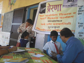 "Health checkup camp for ""PRERANA"" Children"