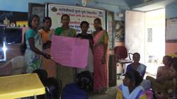 women during presentation