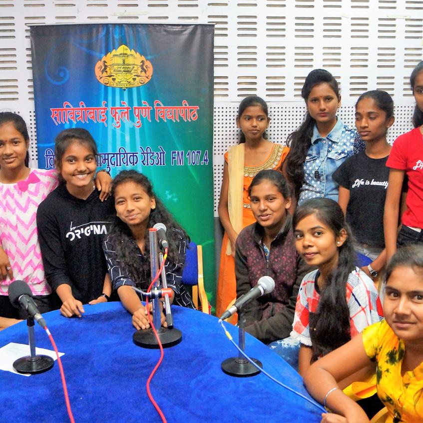 community radio - interview