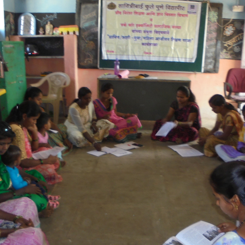 rural women life long education training