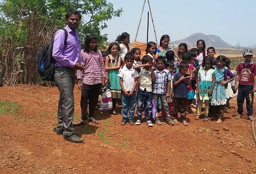 children enjoining trip