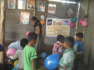 Celebration of Children's Day with PRERANA Center Children