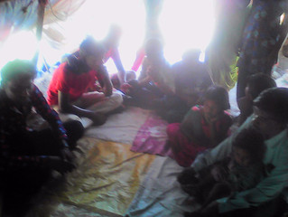 Livelihood opportunity meet with youth living on pavement