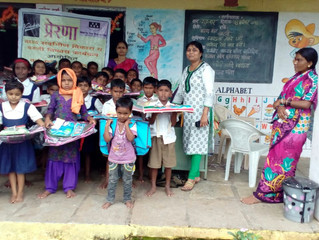Free eye checkup camp and education kit distribution for the marginalized community & children