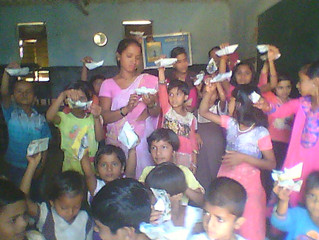 Summer camp for marginalized children