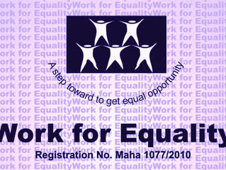 Work for Equality Celebrating 6th Anniversary