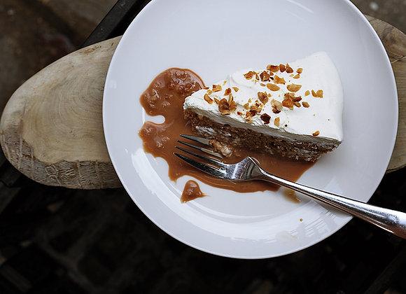 Pumpkin Rum Cake