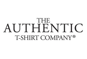 Authentic T-shirt company logo