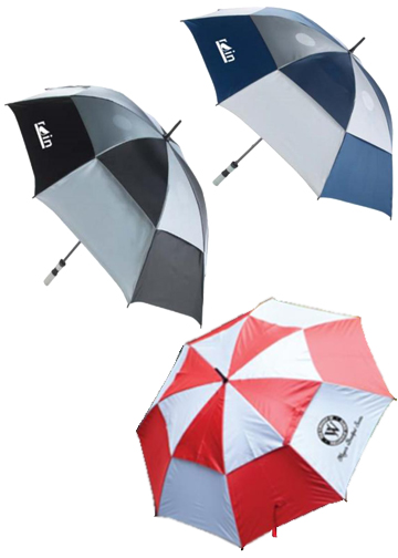 Automatic Double Canopy Golf Umbrella2