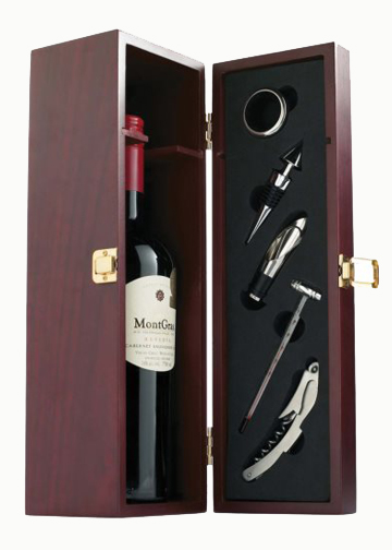 Rosewood Wine Kit Box
