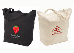 Deluxe Cotton Tote Bag with Gusset