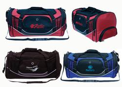 Sports Duffle Bag w Shoe Pouch