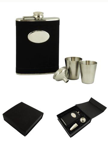 Sandeville Collection Flask Gift Set
