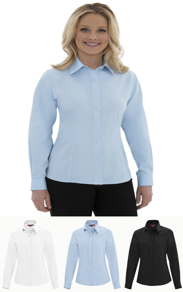 Non-Iron Twill Ladies Shirt