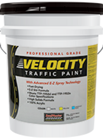 Velocity Traffic Paint - White 5gal